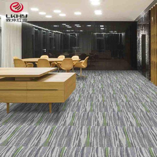 Colors Tufted Polypropylene Carpet Pvc Plain Factory Carpet Living Room Carpet Tile Hotel Office Carpet Tile Floor Shaggy Carpet Tile
