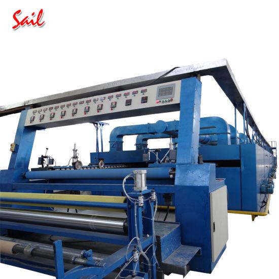 Nonwoven Fabric Thermo Fixing Machine Polyester Rugs Krantz Stenter