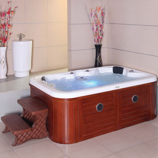 China 4 Person Cheap Price Hot Tub Sex Massage Bathtub Whirlpool Spa Pool Outdoor Jacuzzi China Outdoor Jacuzzi Jacuzzi