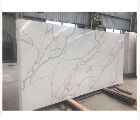 Calacatta Quartz for Vanitytop/Worktops/Slab/Countertop/Floor/Wall Tile