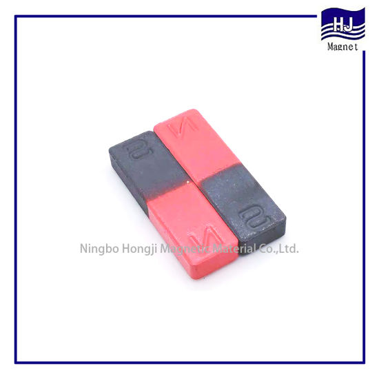 Popular Strong Teaching AlNiCo Magnet with Long Block Shape Customized