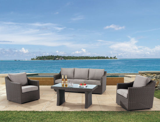 Garden Patio Wicker / Rattan Sofa Set - Outdoor Furniture pictures & photos
