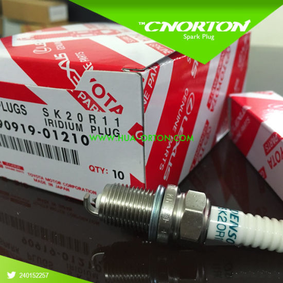 Iridium Power Spark Plug for Denso Sk20r11 90919-01210 pictures & photos