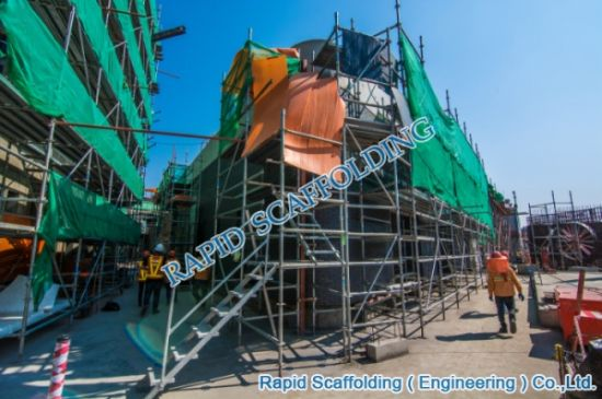Construction Projects Octagonlock System Scaffolding pictures & photos