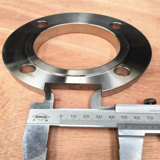 Dn80 Pn16 Sorf Stainless Steel Flange with Notch