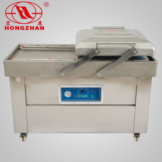 Double Chamber Stainless Steel Vacuum Packing Machine