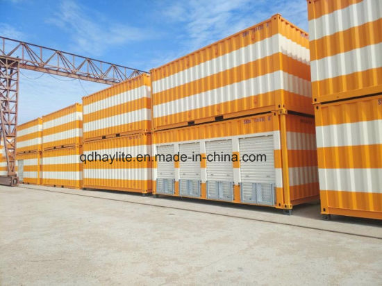 ISO Container Modified 20FT Used Steel Cargo Storage Container with Garage  Doors