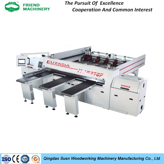 Electric Lift Woodworking Sliding Table Panel Saw