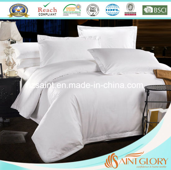 Hotel Plain Style 1500 Thread Count Bedding Sheet Sets pictures & photos