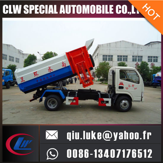 High Quality Container Lift Refuse Truck pictures & photos