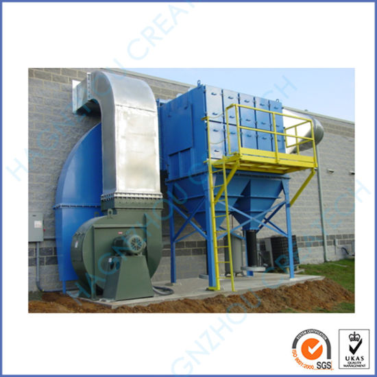 Industrial Cartridge Filter Cyclone Dust Collector Bag Filter (6000 M3 /H) pictures & photos