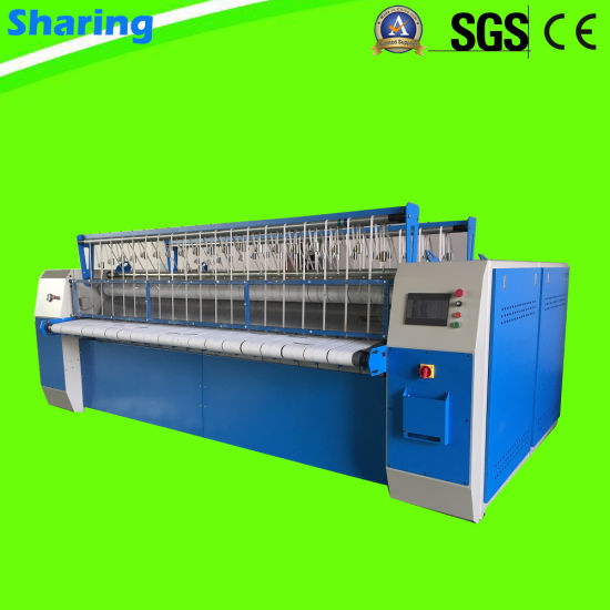 Industrial Laundry Bed Sheets Flatwork Ironer for Hotel, Hospital
