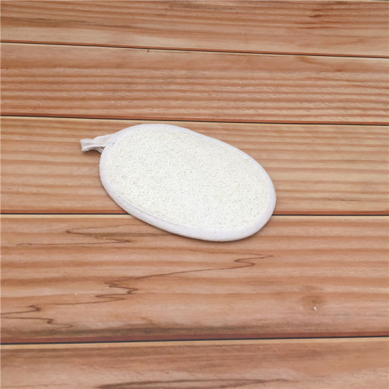 Hot Sale Nature Loofah Material Bath Pad for Shower 7006