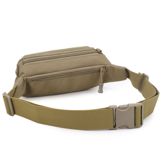Casual Outdoor Waterproof Tactical Small Pockets Sports Mountaineering Light Comfortable Waist Bag pictures & photos