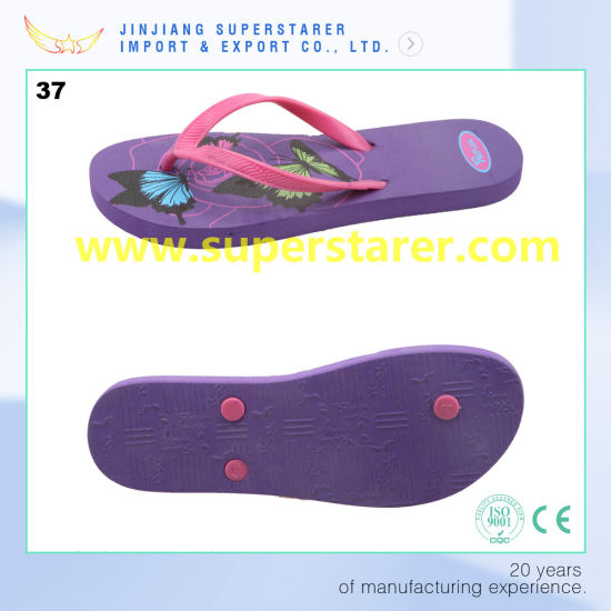 44696f1d4 China Cheap PE Personalized Flip Flops