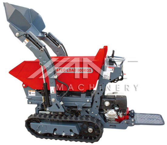 By800 Self-Loading Power Barrow Skid Steer Loader with Attachments