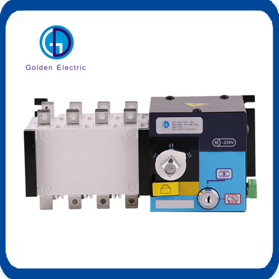 100A 160A 250A 3p 4p Automatic Power Changeover Switch
