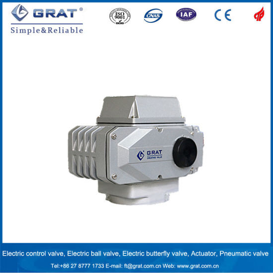 200nm~600nm Intelligent Electric Actuator for Ball Valve pictures & photos
