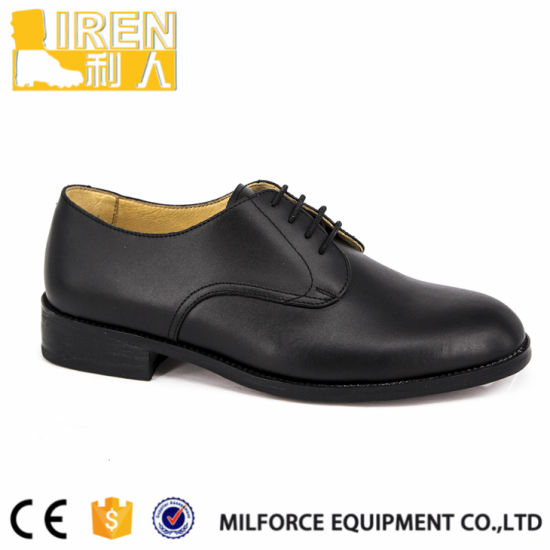 China Female Leather Office Shoes Police Officer Shoes China