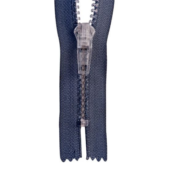5# Special Purpose Zipper with Transparent Teeth