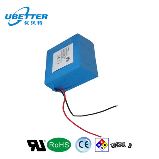 18650 18.5V 13ah Lithium Battery for Detecting Instrument