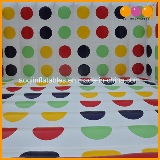 Special Designed Sport Inflatable Twister Game 3D (AQ16216) pictures & photos