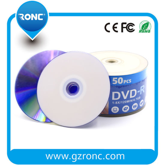 Wholesale Blank DVD Disc Once Recordable DVD-R 16X 4.7GB