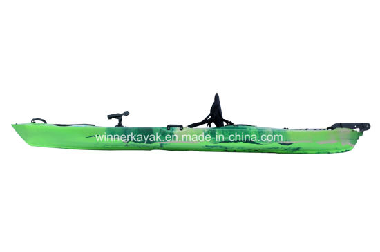 3.80mtr Single Sit on Fishing Kayak with Sliding Rails pictures & photos
