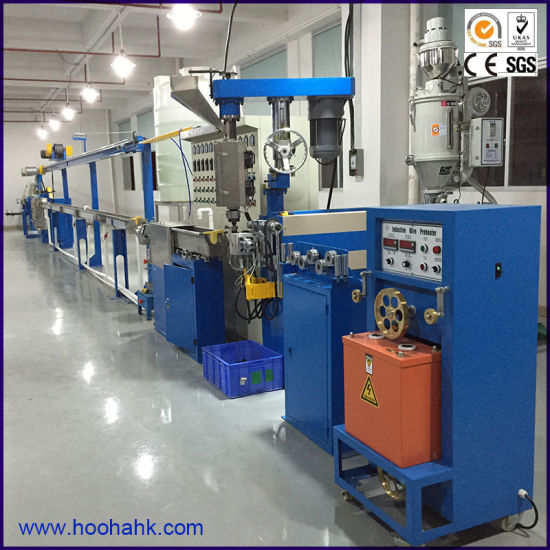 China Siemens Inverter Control Extruder Machine for Making