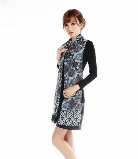 Hot Sell Women's Polyester Voile Scarf Shawl