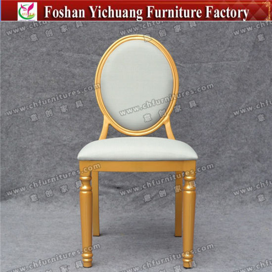 Yc D22 10 Wholesale Furniture Gold Frame Restaurant Chairs For Sale