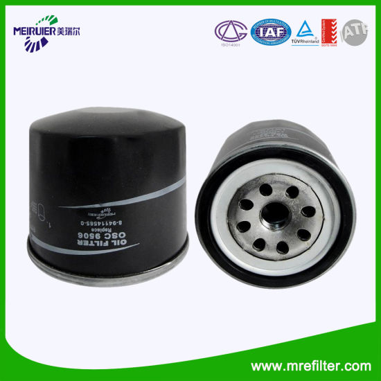 Auto Parts Oil Filter 8 94114585 0 For Japanese Isuzu Car