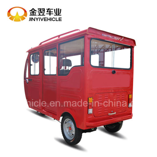 Three Wheel Tricycle Taxi Bajaj Tuktuk for Passenger pictures & photos