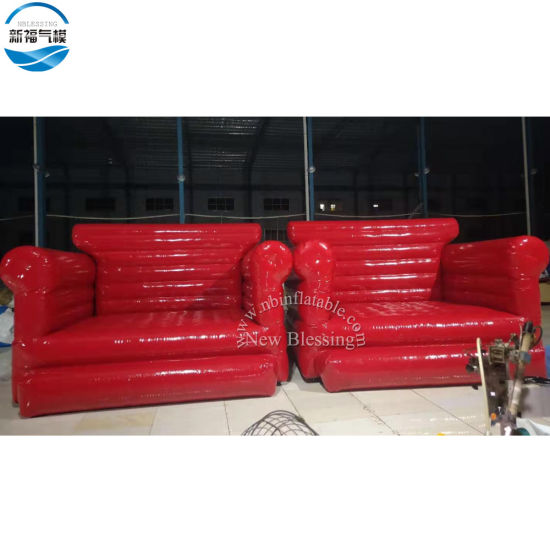 3.5X2.5X3m Customized Carriable Inflatable Chesterfield Sofa Chair pictures & photos