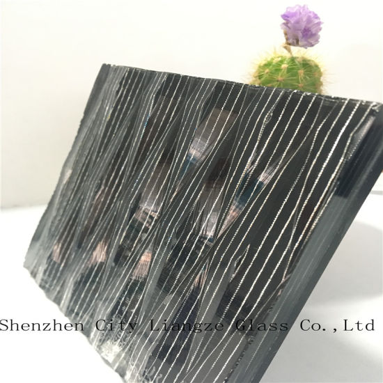 Black Mirror Laminated Glass/Art Glass/Decorative Glass/Tempered Glass for Decoration