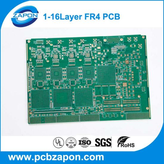 China Fr4 1 2mm Double Sided PCB with Blue Solder Mask - China PCB