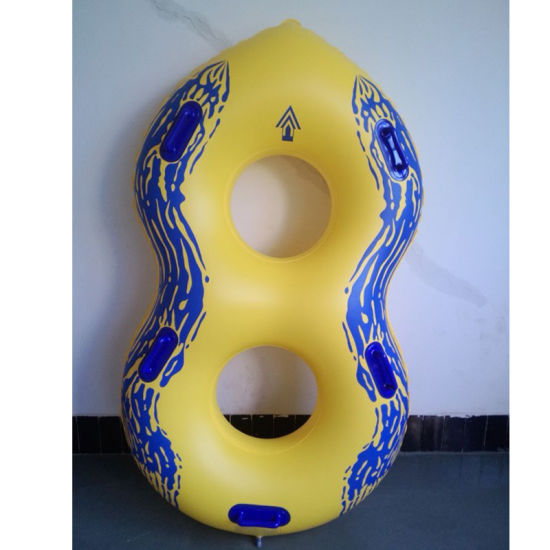 79inches L K80 PVC Double Tube Inflatable Water Tube for Waterpark pictures & photos
