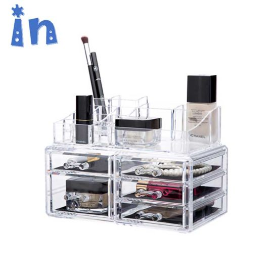 China Premium Quality Clear Plastic Cosmetic and Makeup