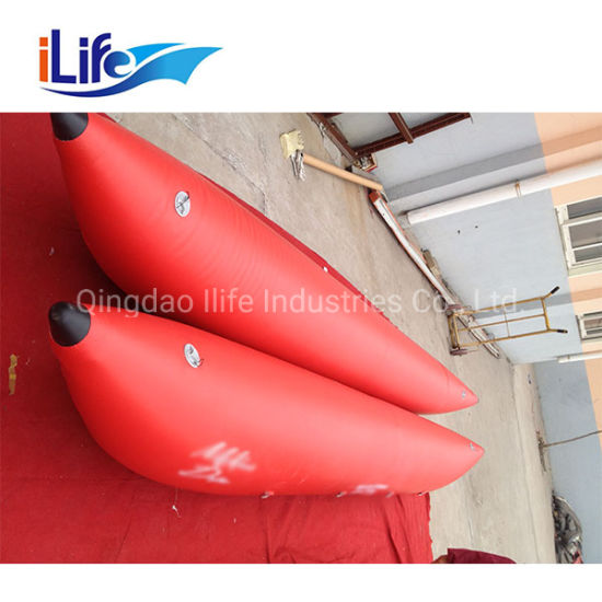 Ilife Small Belly Inflatable Kayak Fishing Boat for Rafting Float Tube Single Person Fishing Boat Belly Boat Nrs Cataraft