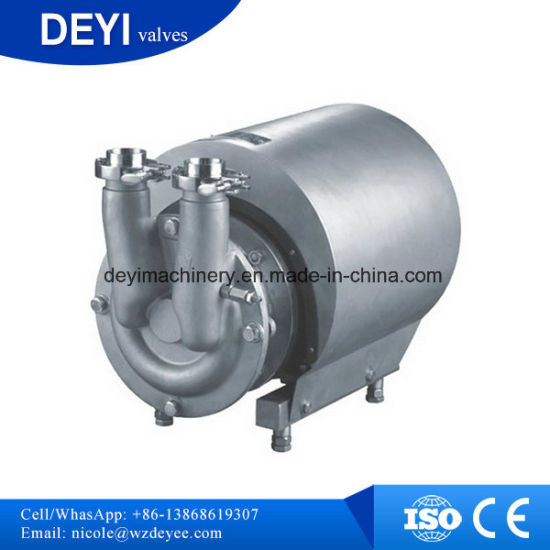 Stainless Steel CIP Cleaning Self Priming Pump pictures & photos