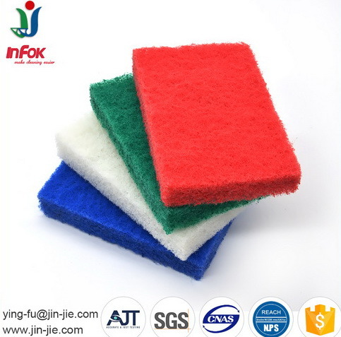 2cm Thickness Household Cleaning Products Abrasive Mix Color Scrubber pictures & photos