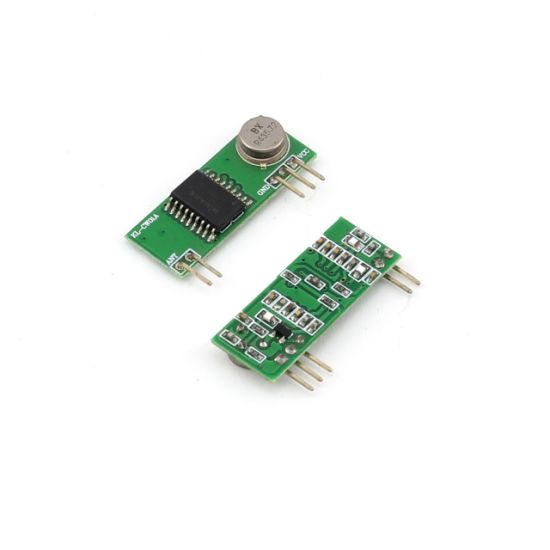 RF Wireless Receiver in Ask/Ook Super-Heterodyne