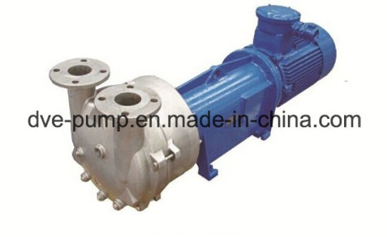 Coaxial Water Ring Vacuum Pump with Direct Connection Design