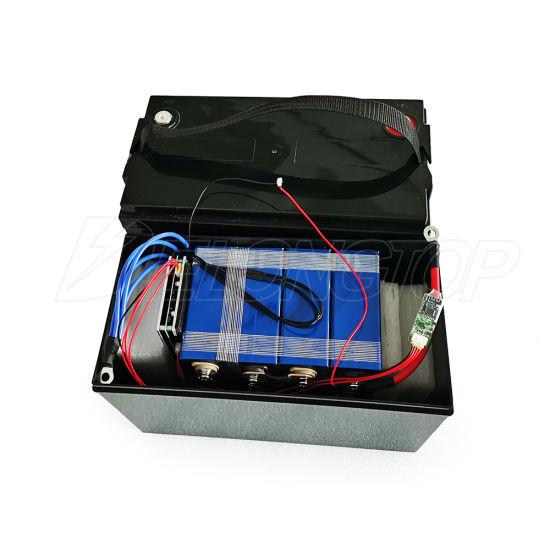 High Capacity Rechargeable UPS LiFePO Battery 12V 100ah Solar Battery
