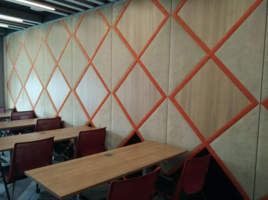 Soundprooof Movable Partition Walls for Office, Meeting Room, Conference Room, Training Center pictures & photos