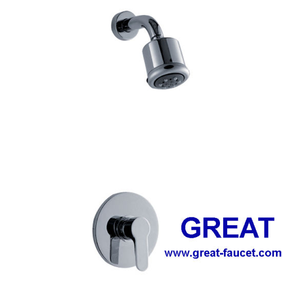 China Concealed Shower Mixer with Shower Head - China Shower Faucet ...