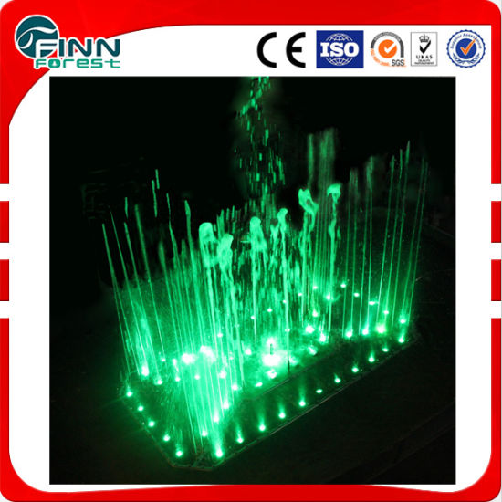Stainless Steel LED Light Outdoor Decoration Music Fountain Design pictures & photos