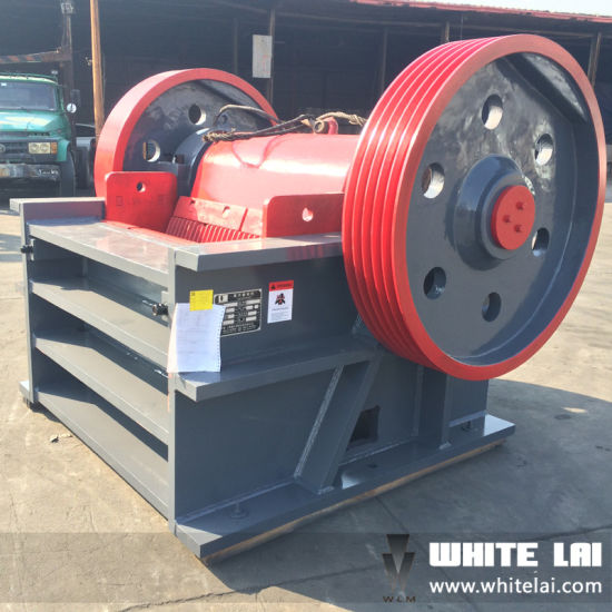 Secondary Fine Rock Stone Jaw Crusher Pex-300*1300 (PE300X1300) pictures & photos
