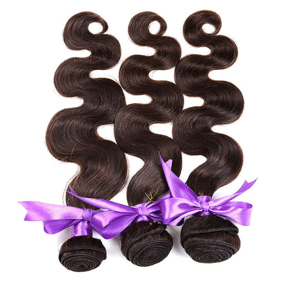 Ombre Virgin Hair Extensions 4 Bundles Grade 7A Brazilian Virgin Hair Body Wave Ombre Human Hair Weave Bundles 1b 4 27# pictures & photos