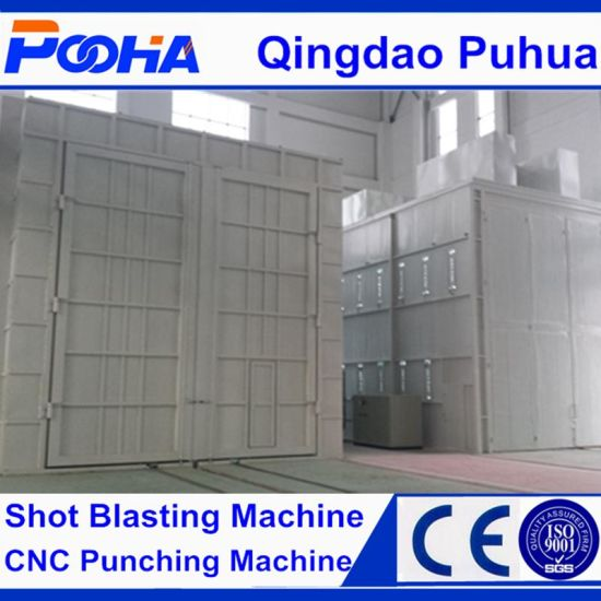 Sand Blasting Room Manual Air Sand Blasting Cabinet (Q26) pictures & photos
